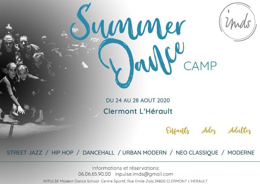 Summer dance camp 1